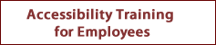 Accessibility Training for Employees